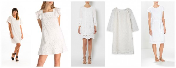 White LaceBroderie Dresses
