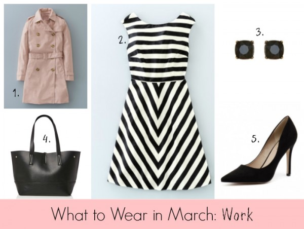 What to Wear in March Work