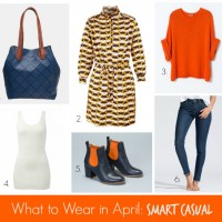 What to Wear in April