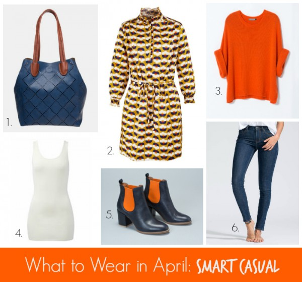 What to Wear in April Smart Casual #1