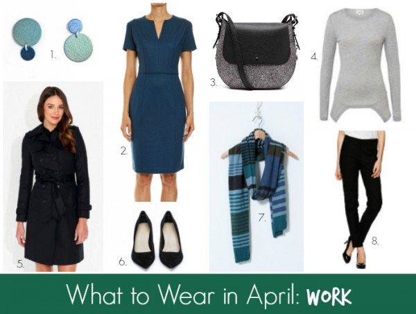 What to Wear in April Work