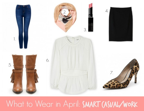 What to wear in April Smart Casual & Work - Blouse