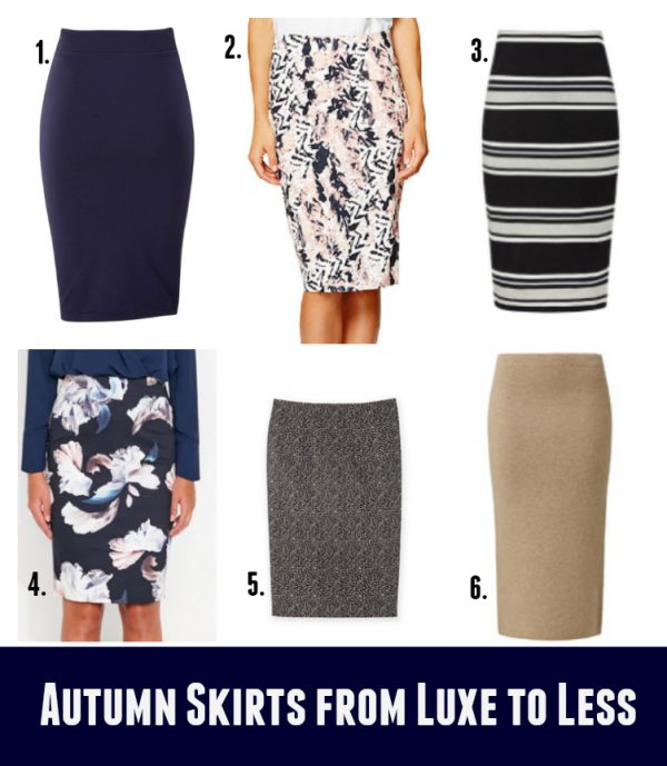 Autumn Skirts from Luxe to Less - Skirts