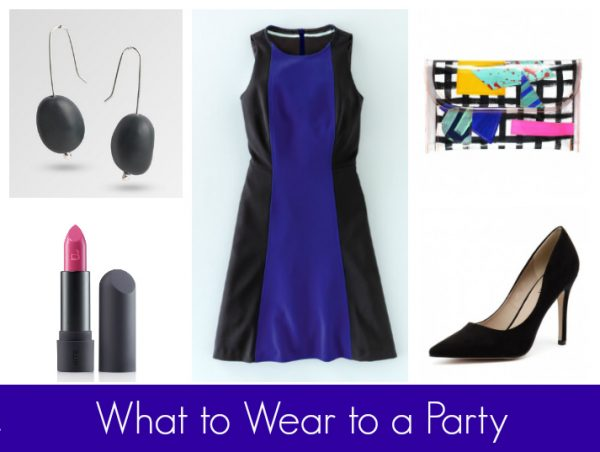 What to Wear to a Party - Black & Blue