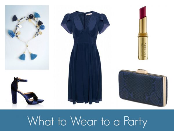 What to Wear to a Party - Blue