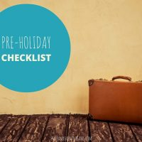 What to Do Before You Go on Holiday