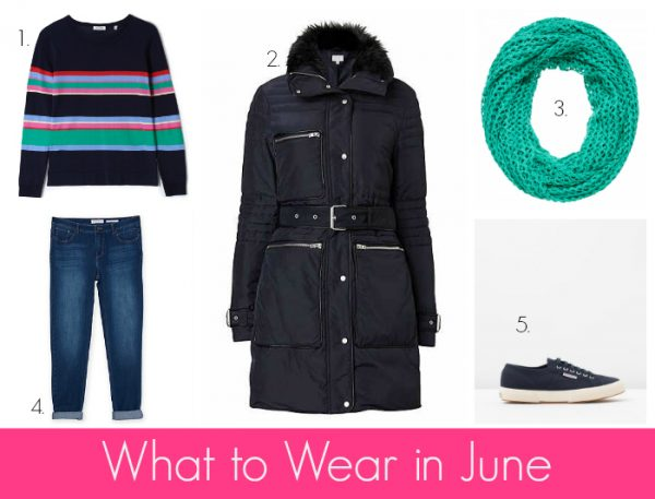 What to Wear in June - Navy