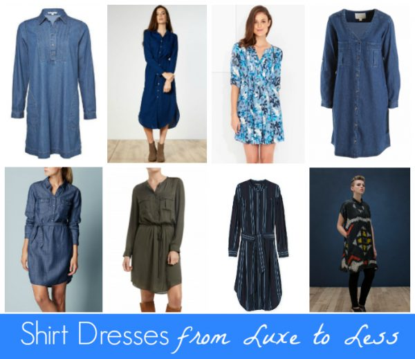 3e4cc8ea2806f Shirt Dresses from Luxe to Less - Style & Shenanigans