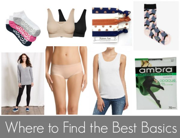 The Best Fashion Basics