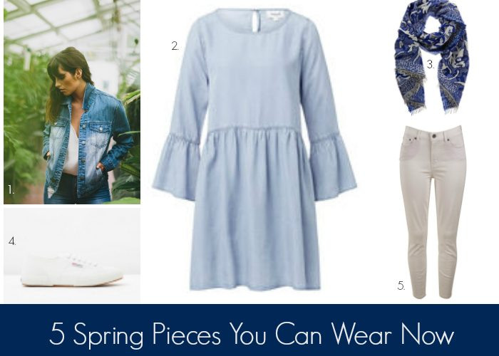 Five Pieces to Get You From Winter to Spring