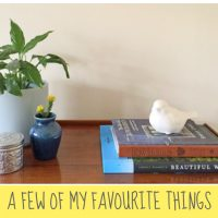A Few of My Favourite Things
