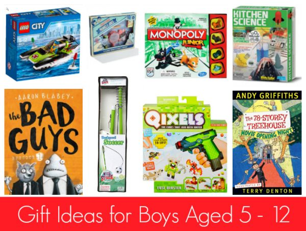 Gift Ideas for Boys Aged 5 - 12