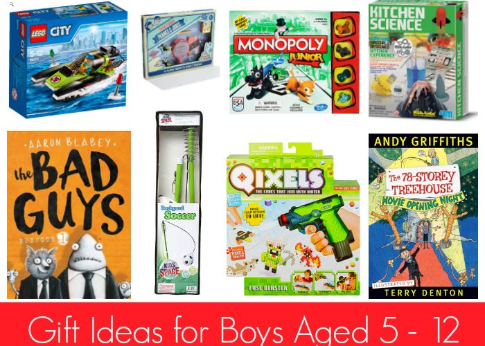 Gift Ideas for Boys Aged 5 – 12