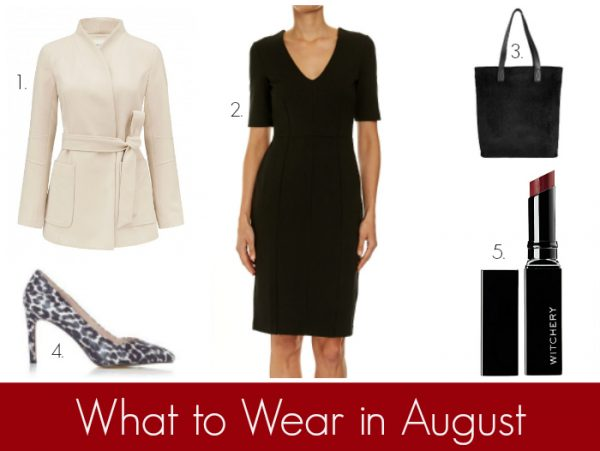 What to Wear in August - Work