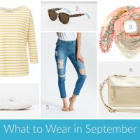 What to Wear in September
