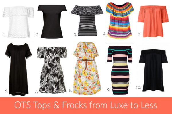 OTS Tops & Frocks from Luxe to Less