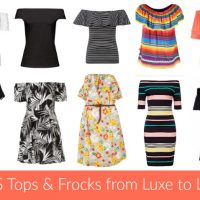 Off The Shoulder Tops & Dresses from Luxe to Less