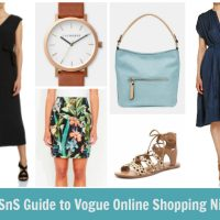 VOGUE Online Shopping Night – Spring 2016