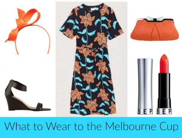 What To Wear to Melbourne Cup - Orange
