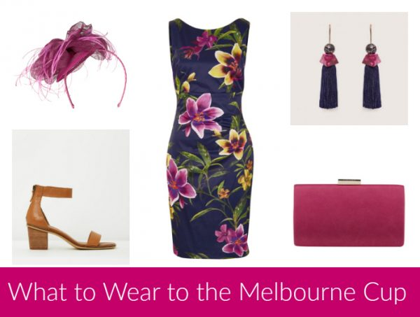 What to Wear to the Melbourne Cup - Navy