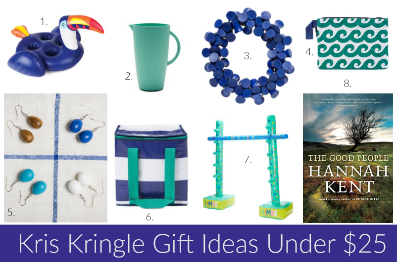kris kringle gift ideas under 25 for christmas