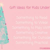 Christmas Gift Ideas for Kids Under 12