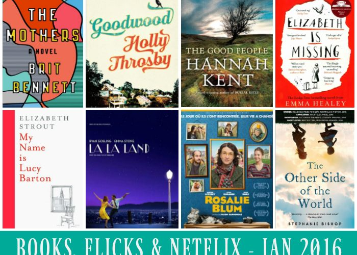 The Books, Flicks and Netflix Wrap – Mid January 2016