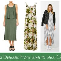 Maxi Dresses from Luxe to Less