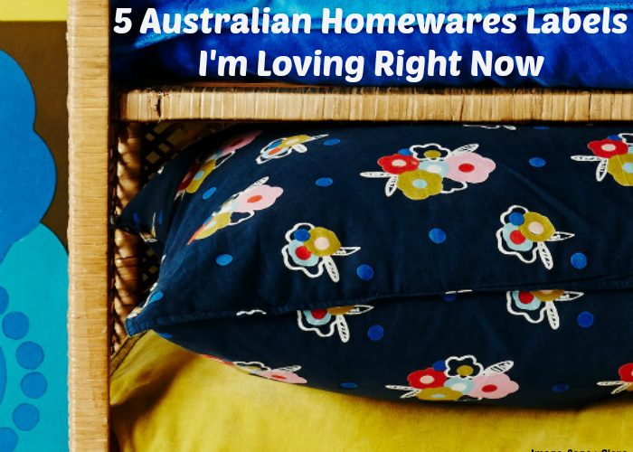5 Australian Homewares Labels I'm Loving Right Now
