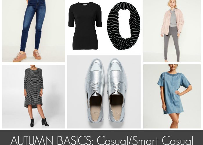 Autumn Basics: Casual/Smart Casual Wardrobe