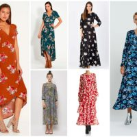Luxe to Less: Floral Maxis for Autumn/Winter