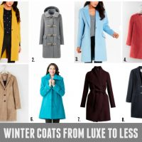 Luxe to Less: Winter Coats & Puffers