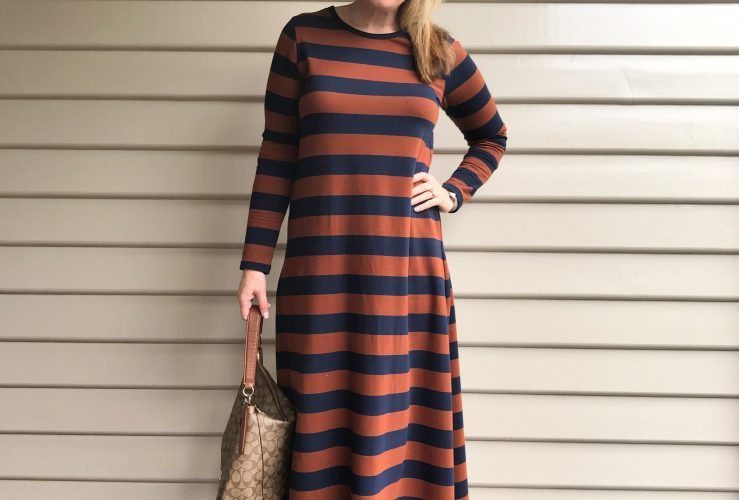 Everyday Style @ Shenanigans Central: Bohemian Traders' Striped Maxi Dress