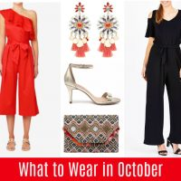 What to Wear in October