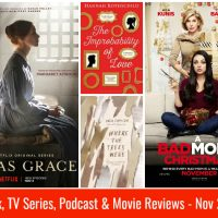 Books, TV Series, Podcasts & Movie Reviews: November 2017