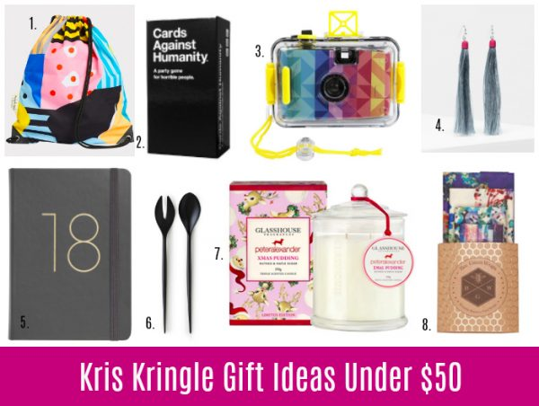 Kris Kringle Gift Ideas Under 15 25 And 50 Style Shenanigans