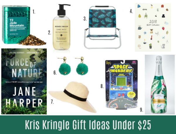 above 1 jade mountain tea 25 from t2 2 small hand wash 20 from bondi wash 3 beach chair 12 from kmart 4 wall calendar 1695 from kikki k 5