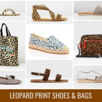 Everyday Style + Where to Shop for Leopard Print Shoes & Bags