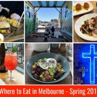 Where to Eat in Melbourne – The Spring 2017 Edition