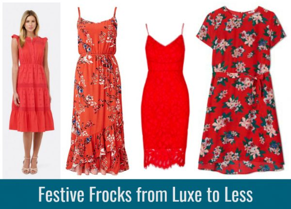 45c95fecc81 Festive Red Frocks from Luxe to Less - Style   Shenanigans