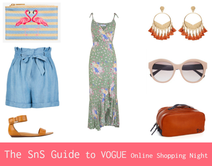 The Sns Guide To Vogue Online Shopping Night December 2017 Style Shenanigans