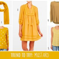 Trend to Try: MUSTARD
