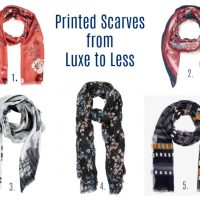Autumn Scarves from Luxe to Less