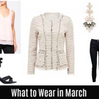 What to Wear in March