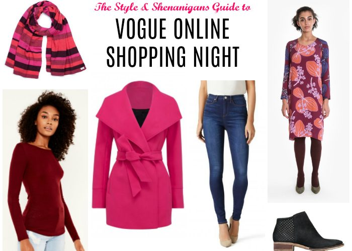 The SnS Guide to Vogue Online Shopping Night – April 2018