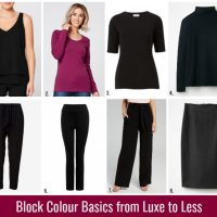 Block Colour Basics from Luxe to Less