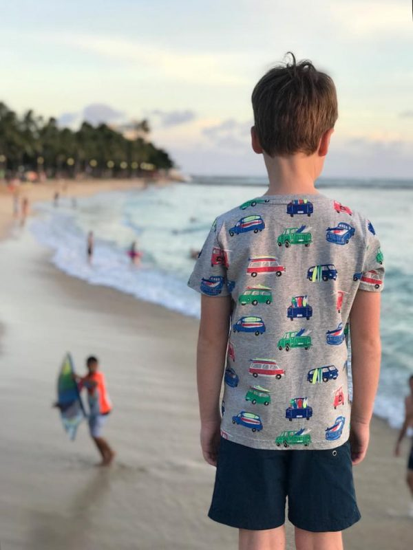 7b36ee5cad Friday Night Fireworks – Fireworks go off every Friday night at Waikiki  Beach after sunset. We watched them from the pier at Kuhio Beach park –  pictured ...