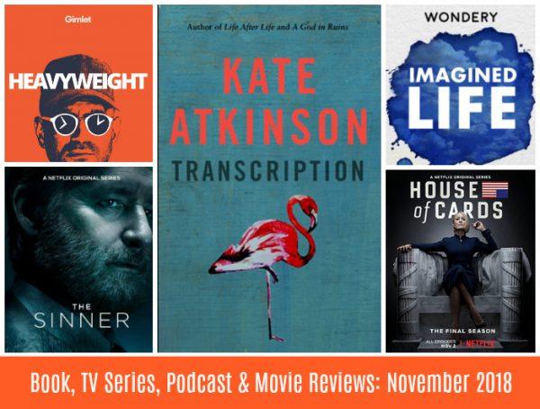 Book Tv Series Podcast Movie Reviews November 2018 Style